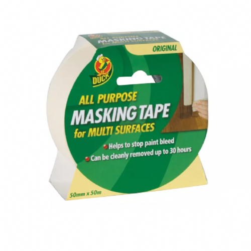Shurtape 232318 Duck Tape All Purpose Masking Tape 50mm x 50m